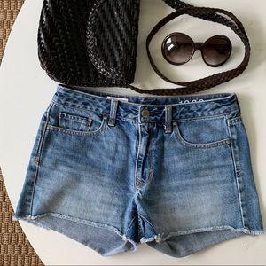 Gap Jean Cut Off Shorts Denim